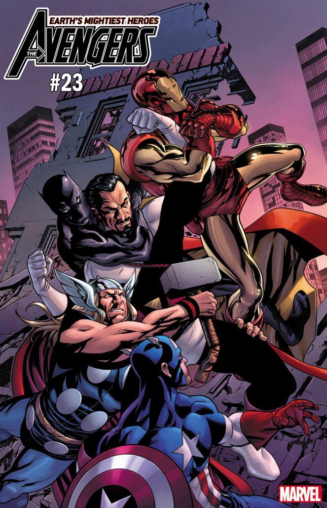 Avengers #23 Variant Cover