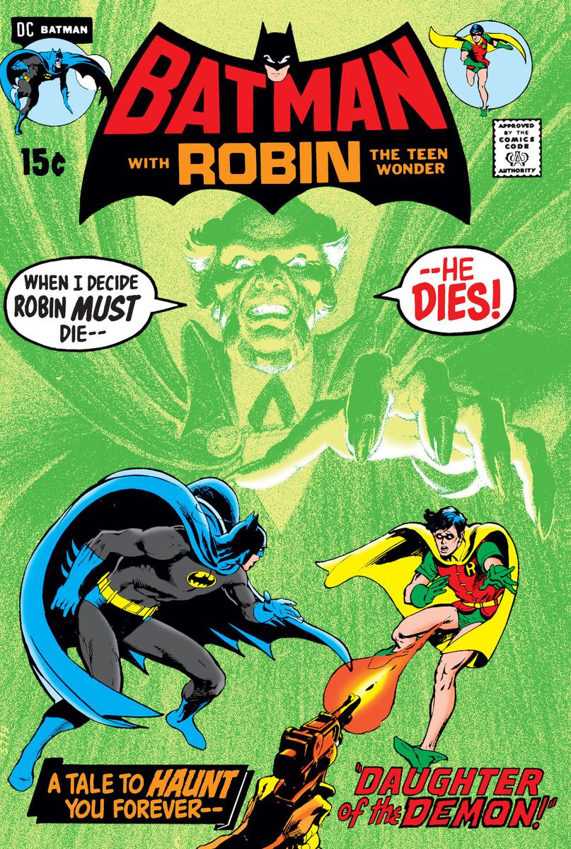 Batman #232 by O'Neil and Adams