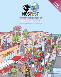 NCS Fest program cover