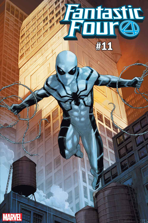 Fantastic Four #11 Spider-Man costumes variant