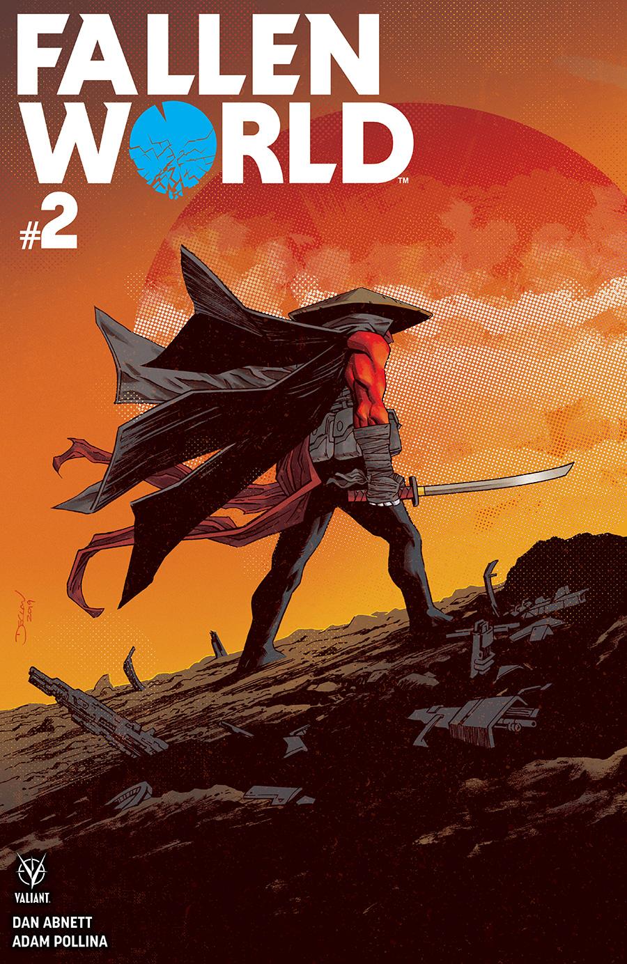 Fallen World #2 Cover B by Declan Shalvey