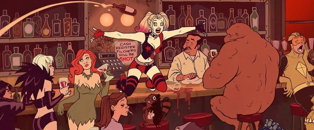 SDCC '19: HARLEY QUINN cartoon series cast revealed