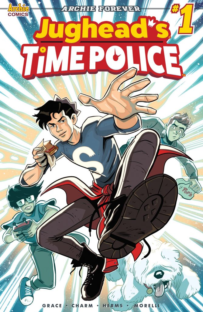 Jughead's Time Police #1 Cover