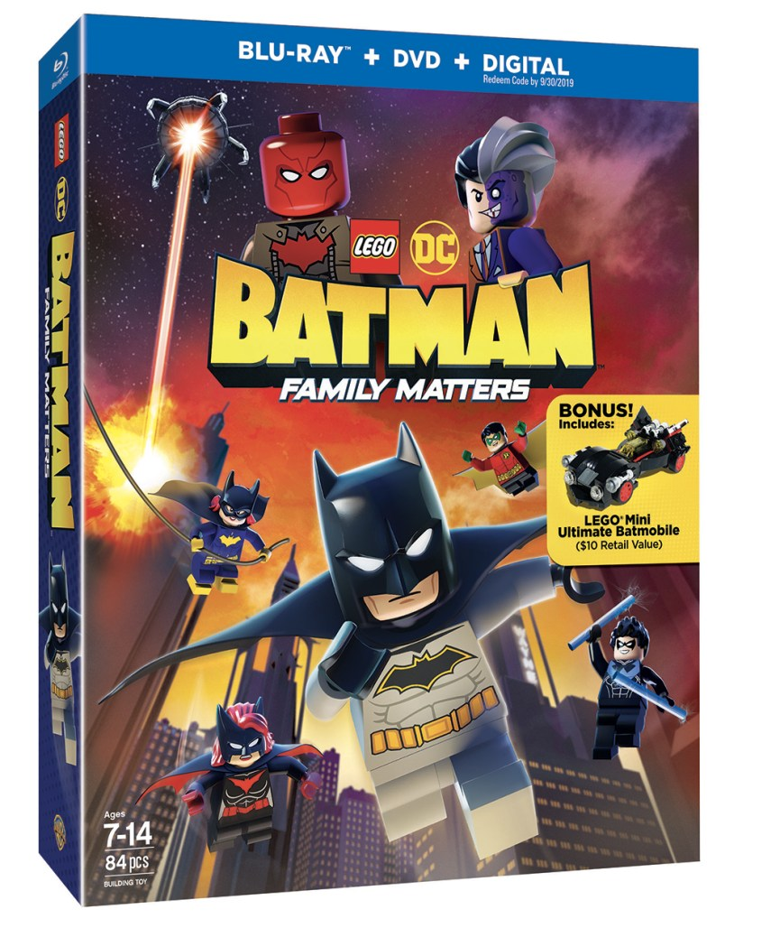 LEGO BATMAN FAMILY MATTERS BLU RAY