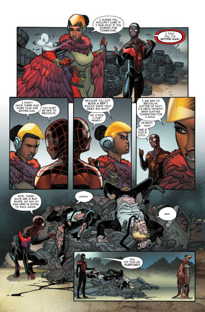 Miles Morales #6 preview page 4