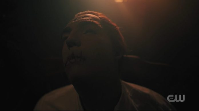 Jason Blossom's dead body