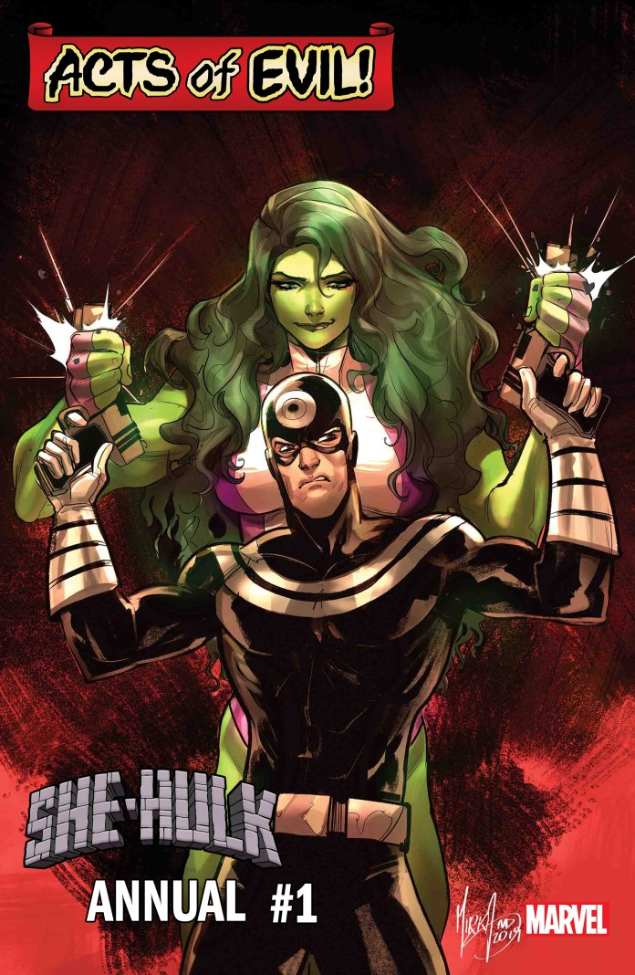 She-Hulk Annual #1 Acts of Evil
