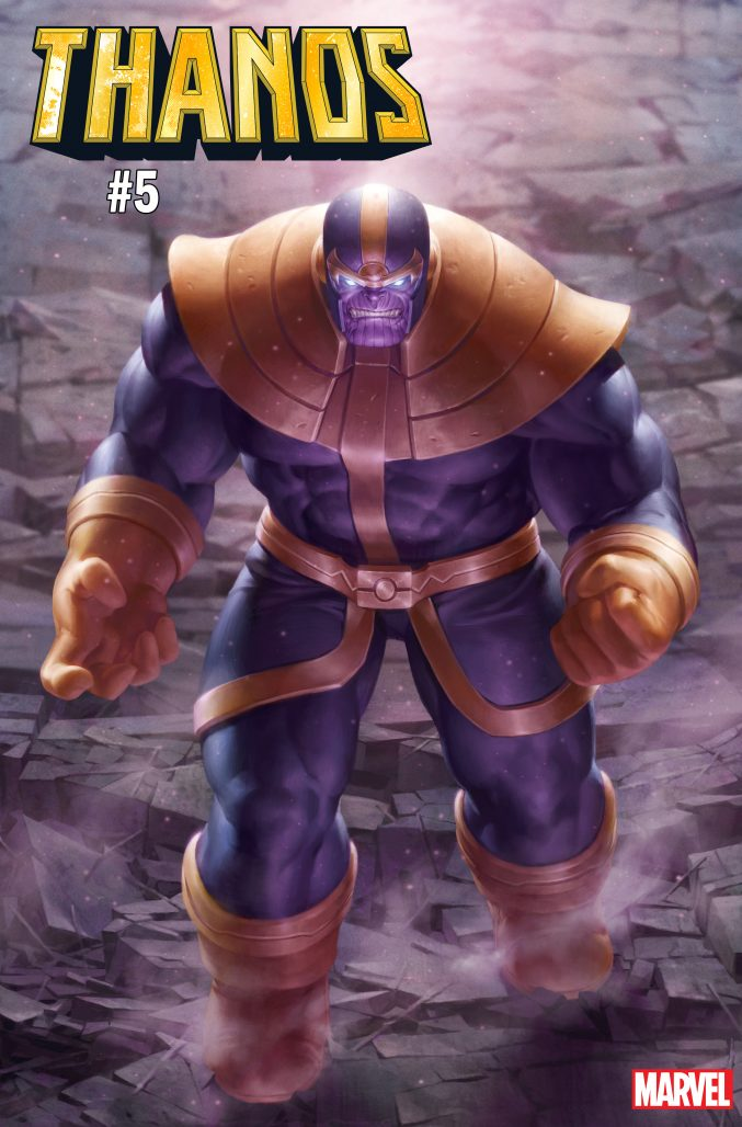 Thanos #5 Variant Cover