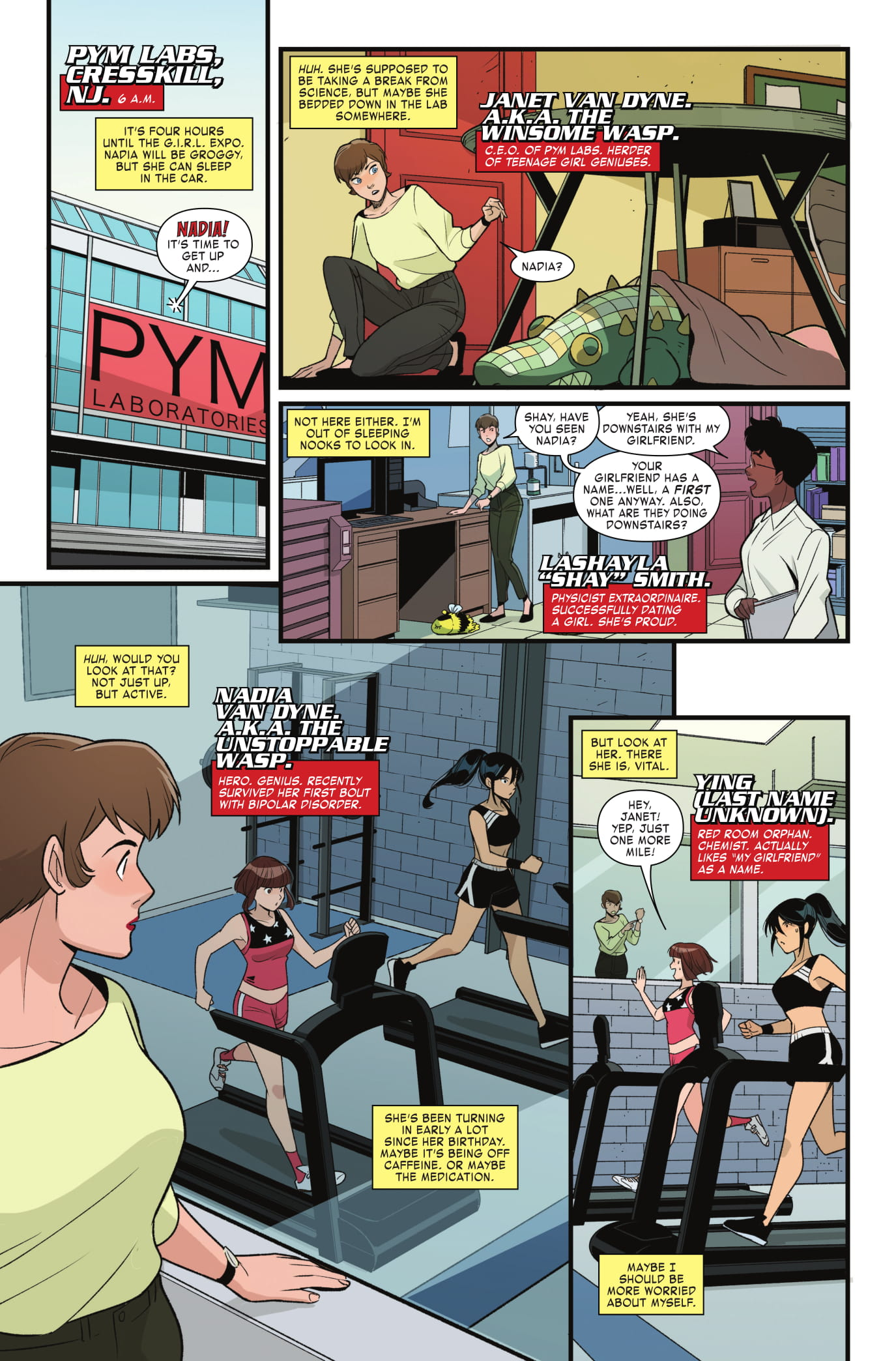 Unstoppable Wasp #8 preview page 1