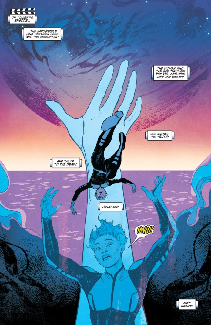 Doctor Mirage #1 preview page 1