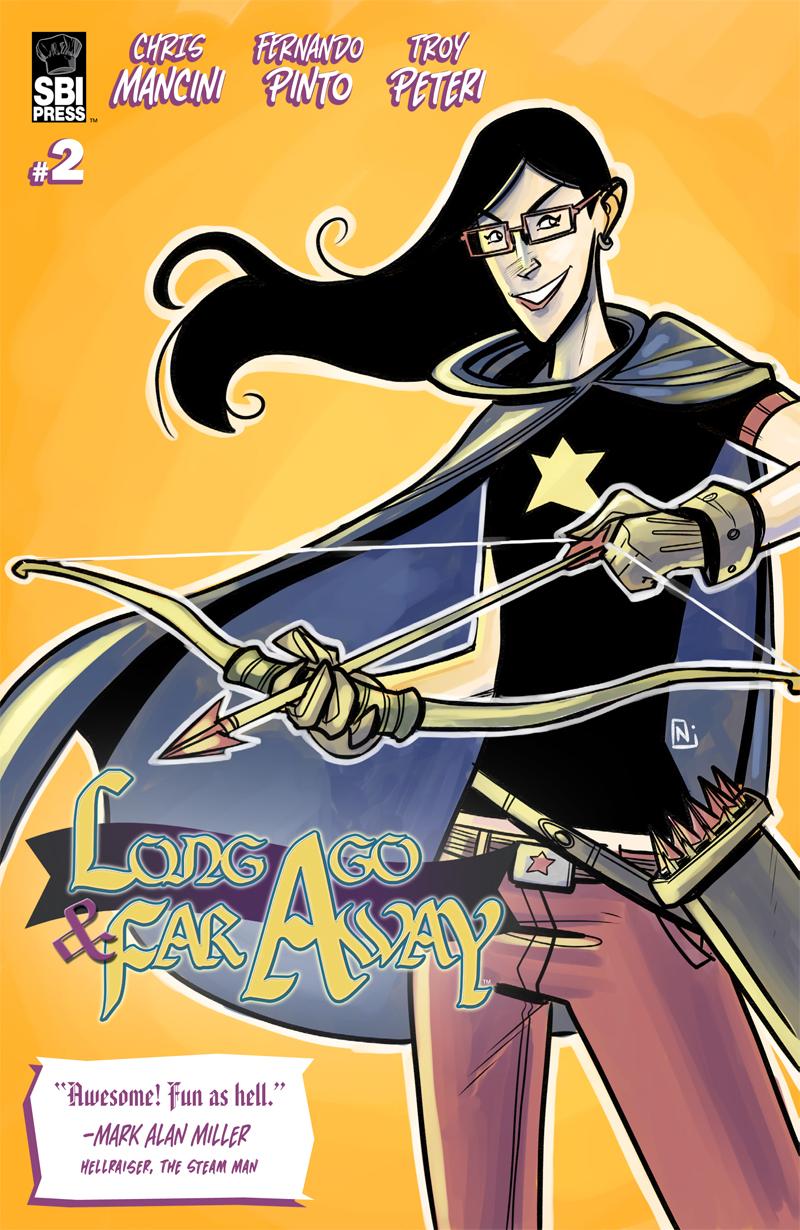 Long Ago and Far Away #2 cover
