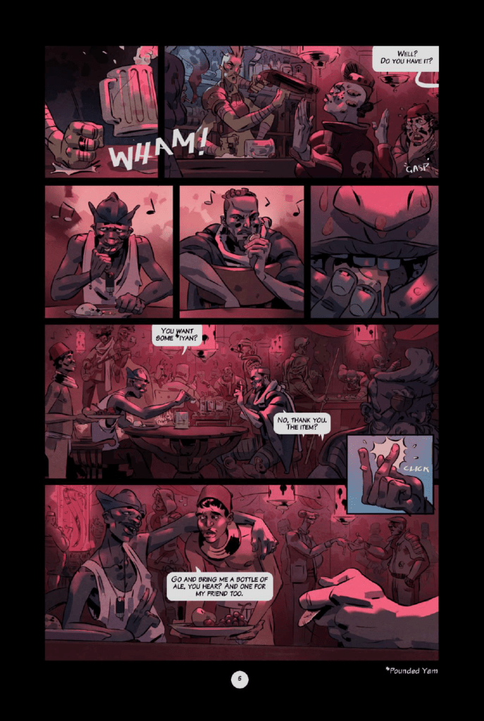 Outcasts of Jupiter preview page 5