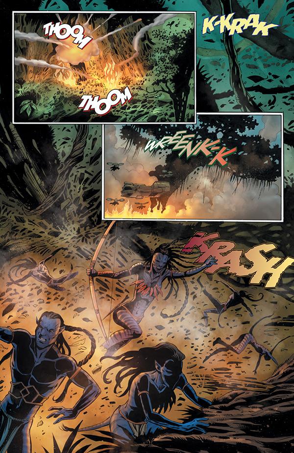 Avatar: Tsu'tey's Path #5 p7
