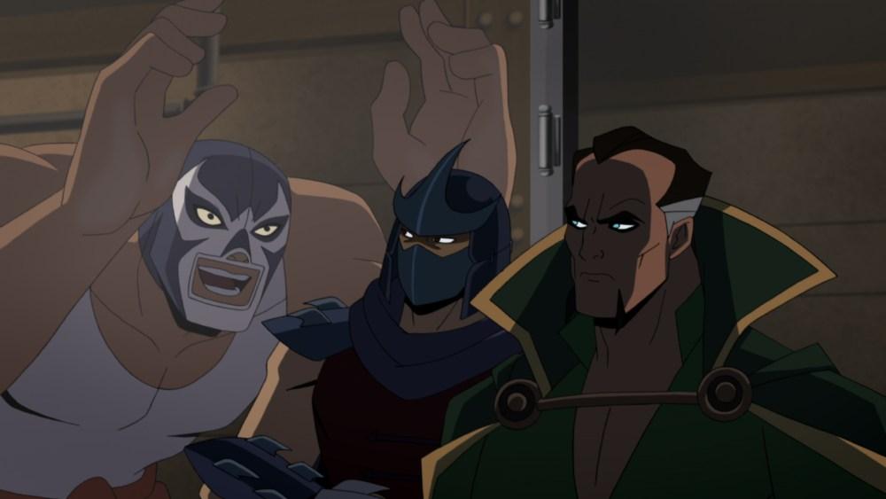Batman vs. TMNT arkham clip