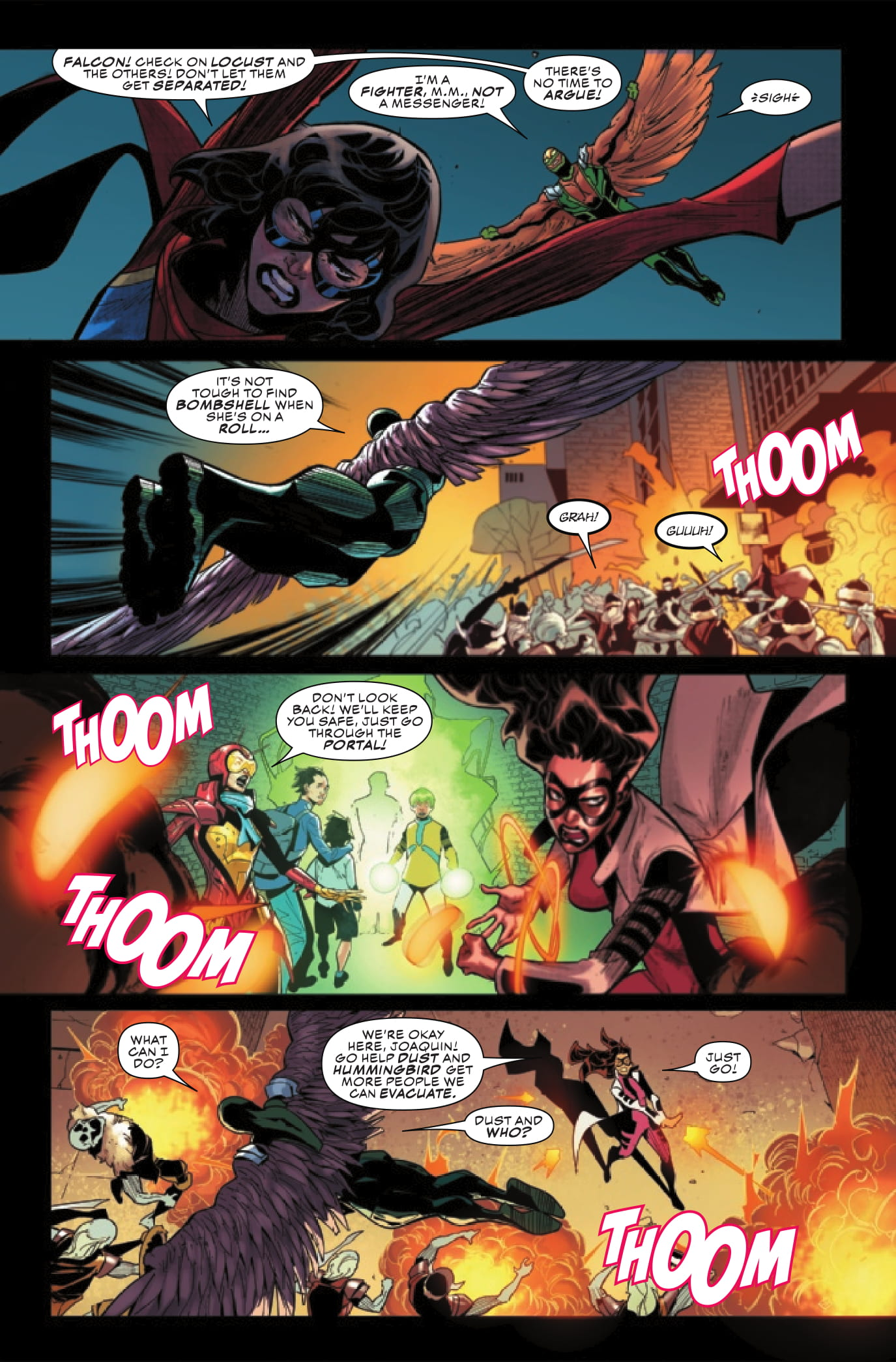 Champions #6 preview page 4