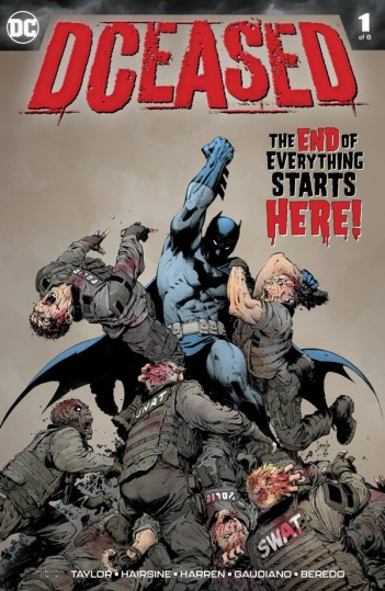 DCeased #1 may sales