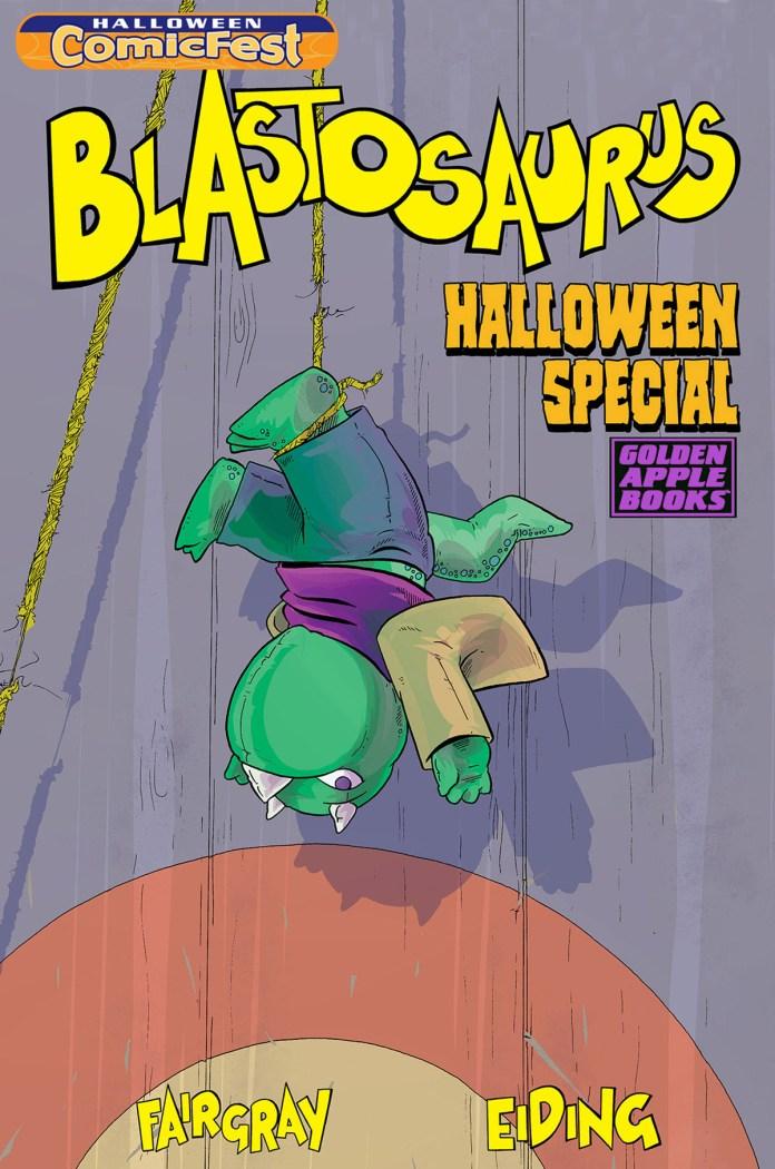 Blastosaurus Halloween Special