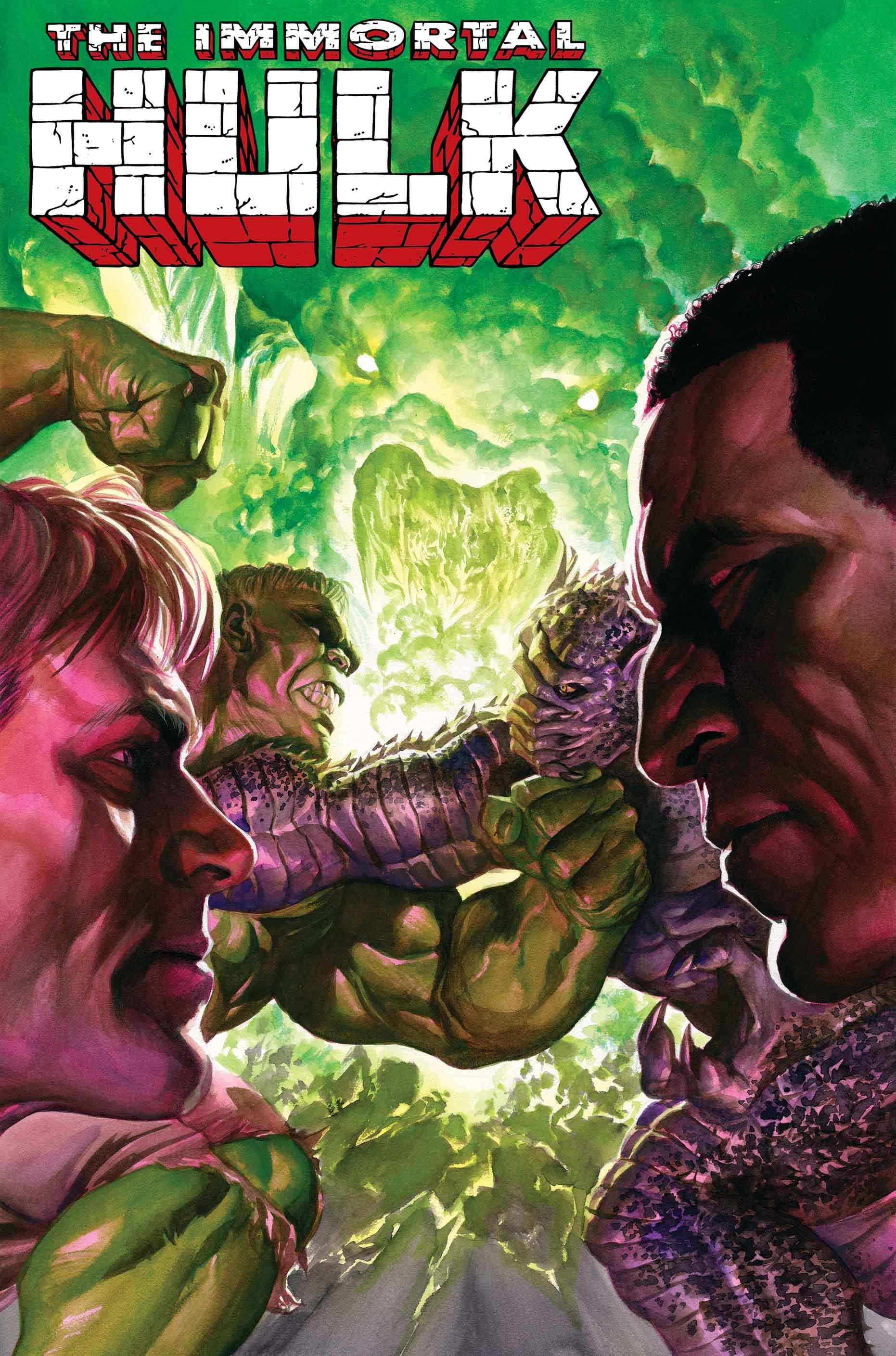 IMMORTAL HULK #25 Alex Ross Main Cover A Bennet Variant Set Marvel 2019 NM+