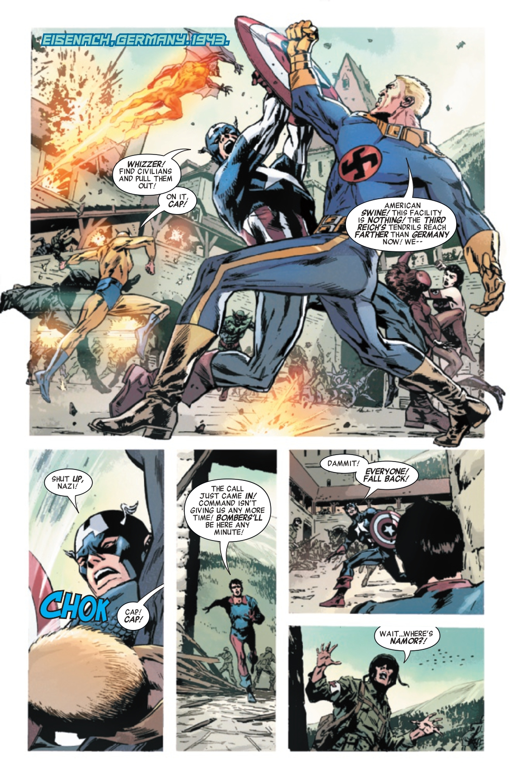 Invaders #6 Page 1