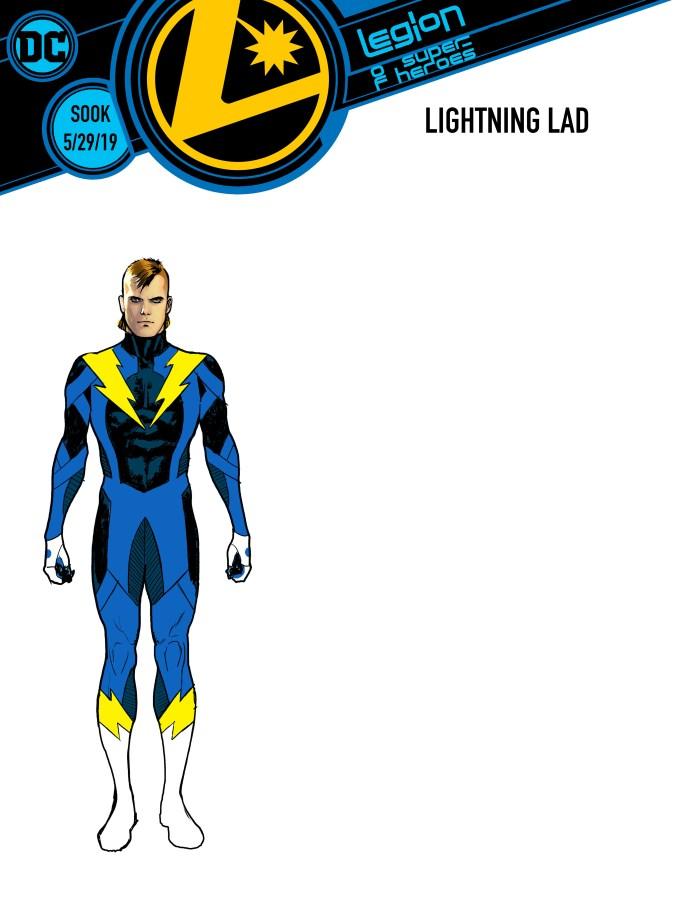 Legion of Super-Heroes return with Bendis and Sook
