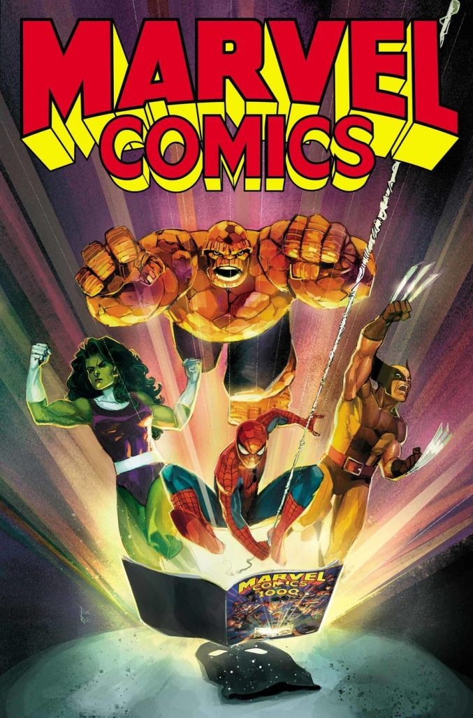 Marvel Comics #1001 Cover by Rod Reis