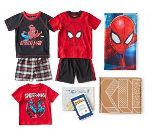 KIDBOX summer rollouts of Spiderman style box