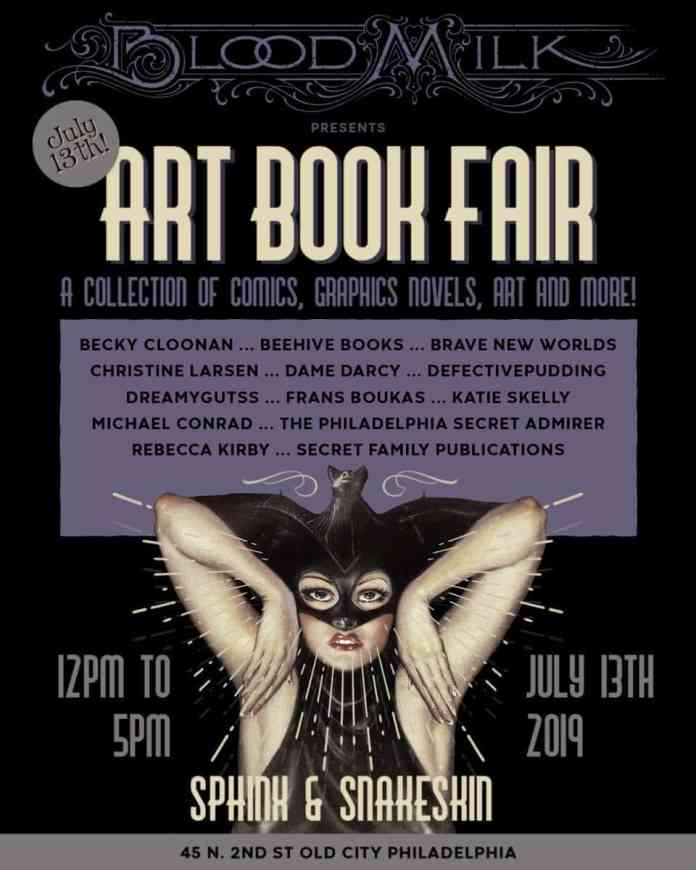 Philadelphia's BloodMilk Art Book Fair embraces its Goth identity for an impressive first year of comics