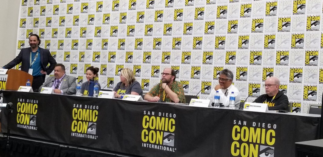 Comic-Con Now panel at SDCC 2019