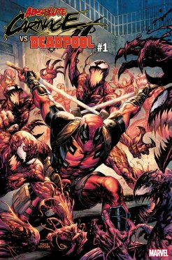 Absolute Carnage VS. Deadpool #1 final cover
