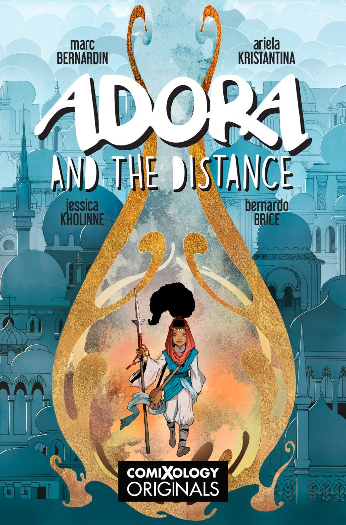 Adora and the Distance cover