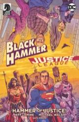 Jeff Lemire writes Black Hammer Justice League