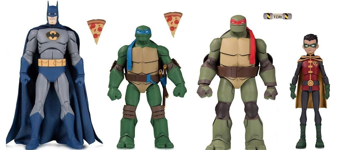 Gnarly Batman Vs Tmnt Toy Line Hits Shelves This Fall The Beat
