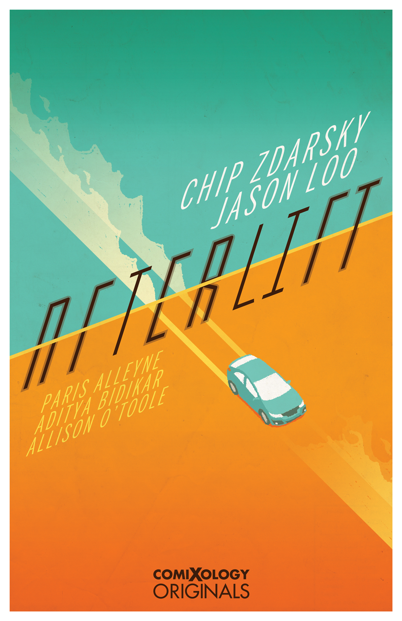 Afterlift SDCC poster by Chip Zdarsky