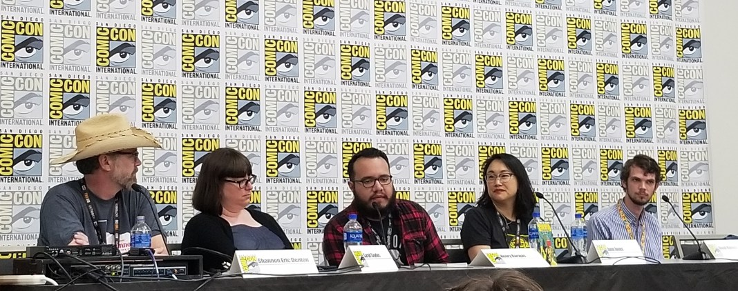 SDCC 2019 comic book editors panel