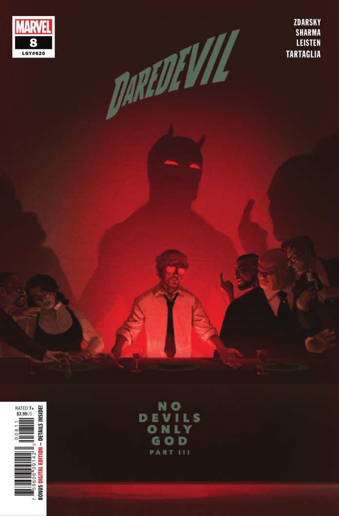 Daredevil #8 cover art by Chip Zdarsky