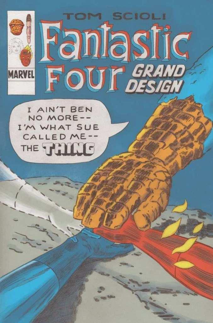 Fantastic Four Grand Design #1 Main Cover