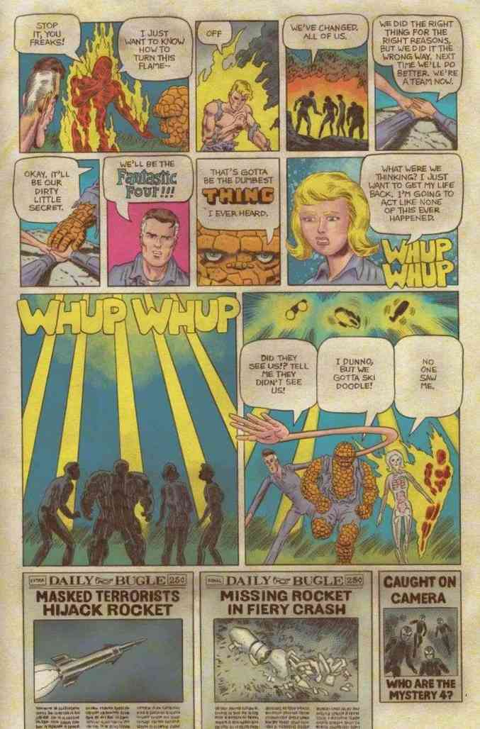 Fantastic Four Grand Design #1 Preview Page 1