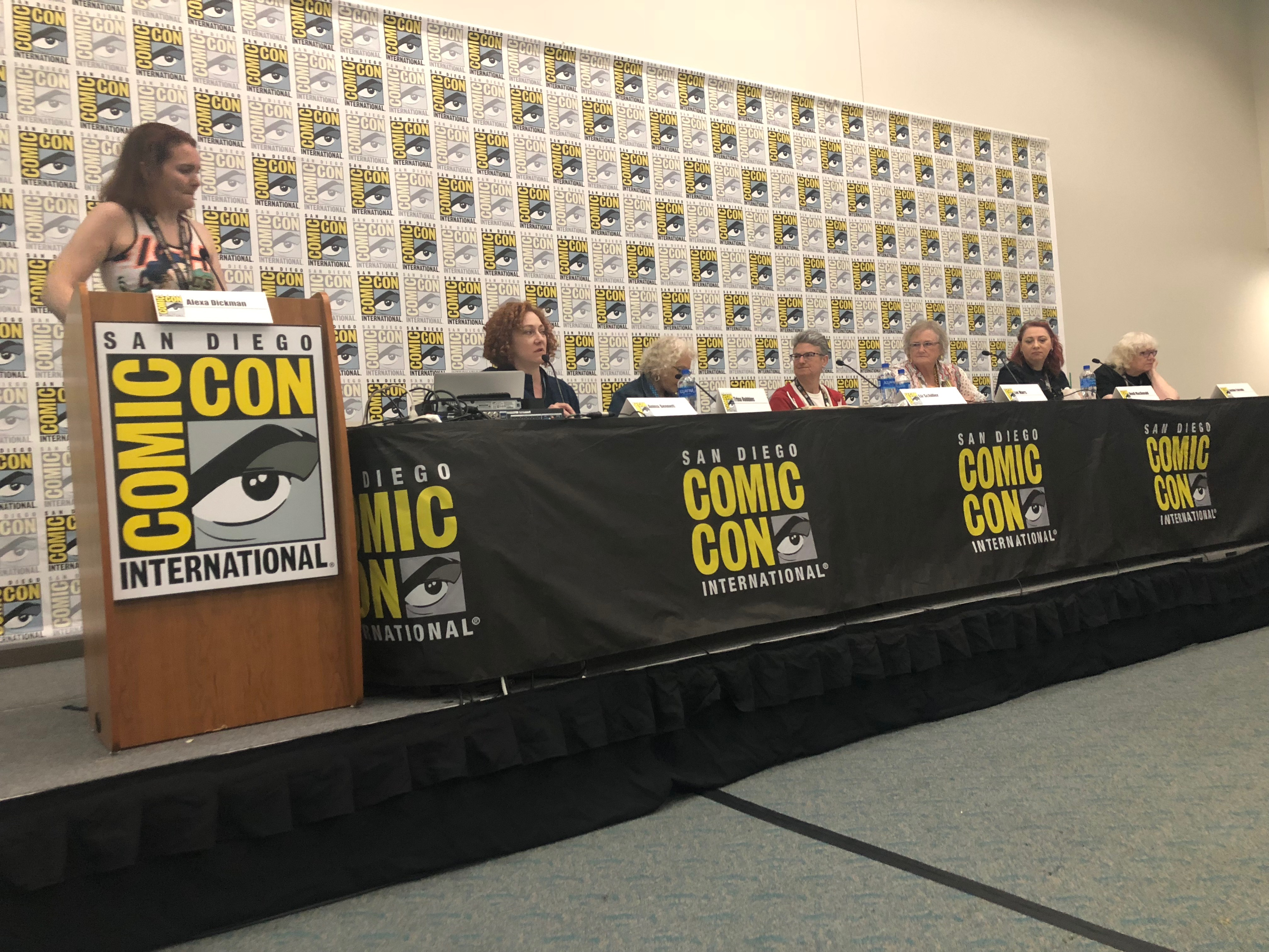 Friends of Lulu: We Changed Comics panelists