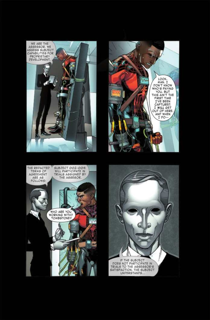 Miles Morales: Spider-Man #8 preview page 3