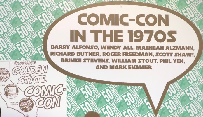 Comic-Con In the '70s panel