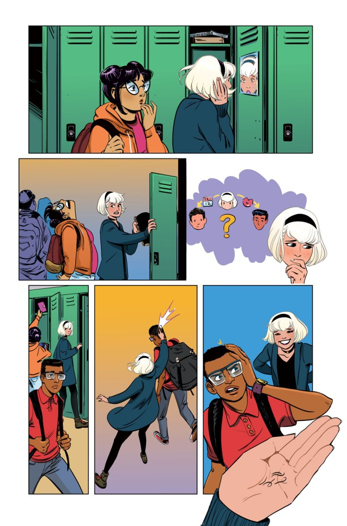 Sabrina the Teenage Witch #4 preview page 2
