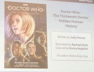 Doctor Who: The Thirteenth Doctor: Hidden Human History from Titan Comics