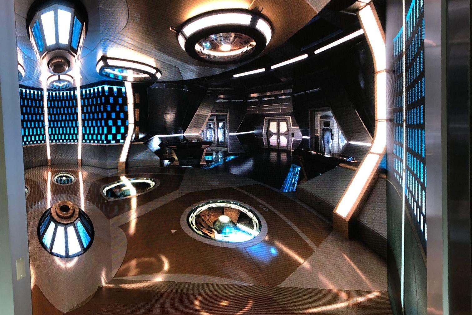 Star Trek Universe Transporter Room Activation