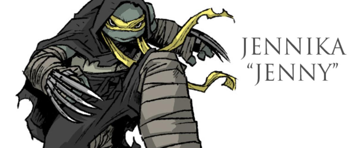 Meet the new, female, Teenage Mutant Ninja Turtle: Jennika