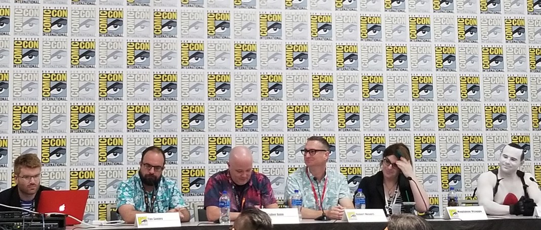 Valiant Fans panel at SDCC 2019