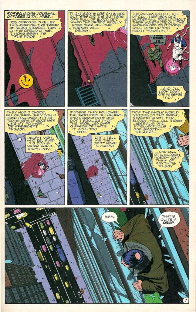 writing for your artist watchmen