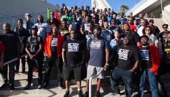 4th annual Black Heroes Matter Flash Mob