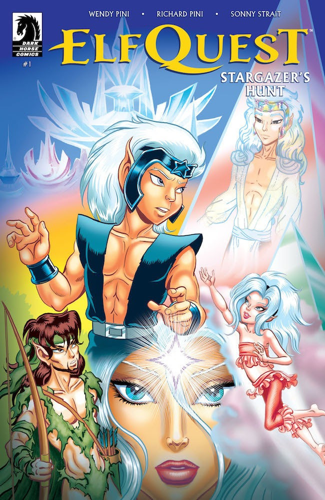 ElfQuest: Stargazer's Hunt #1 cover art