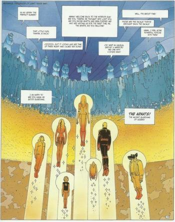 The Incal Monks