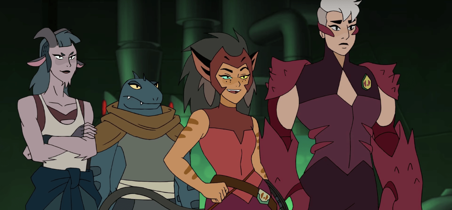 Review Catra Fully Embraces Villainy In She Ra And The Princesses